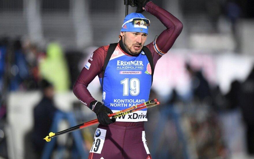Pasaulio biatlono taurės etape – Kaukėno nesėkmė ir latvio sidabras