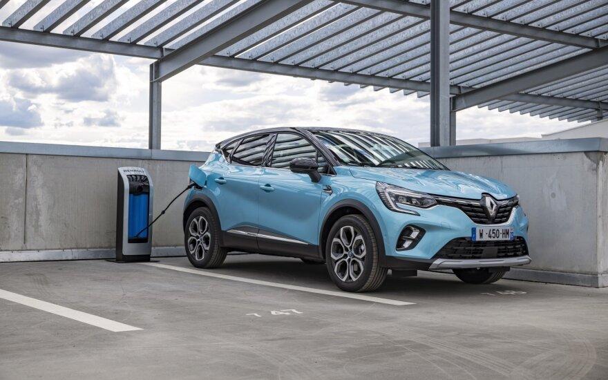"""""""Renault"""" lietuviams siūlo savo pirmuosius hibridinius modelius: """"Captur"""" ir """"Clio"""""""