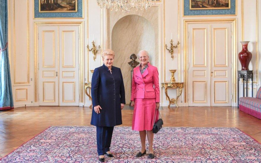Grybauskaitė pareiškė užuojautą Danijos Karalienei