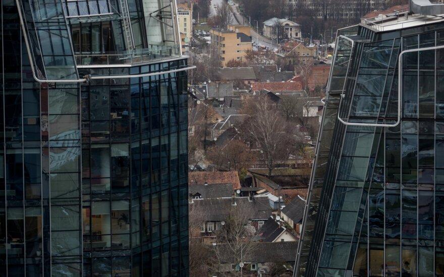 Palygino biurų nuomos pokyčius Baltijos šalyse bei Ukrainoje – Vilniuje nuoma pigiausia