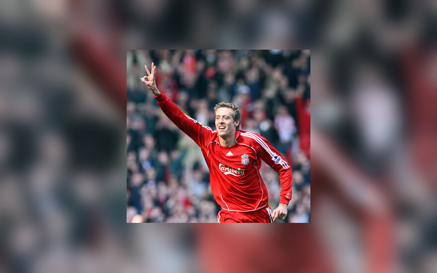"""Peter Crouch (""""Liverpool"""")"""