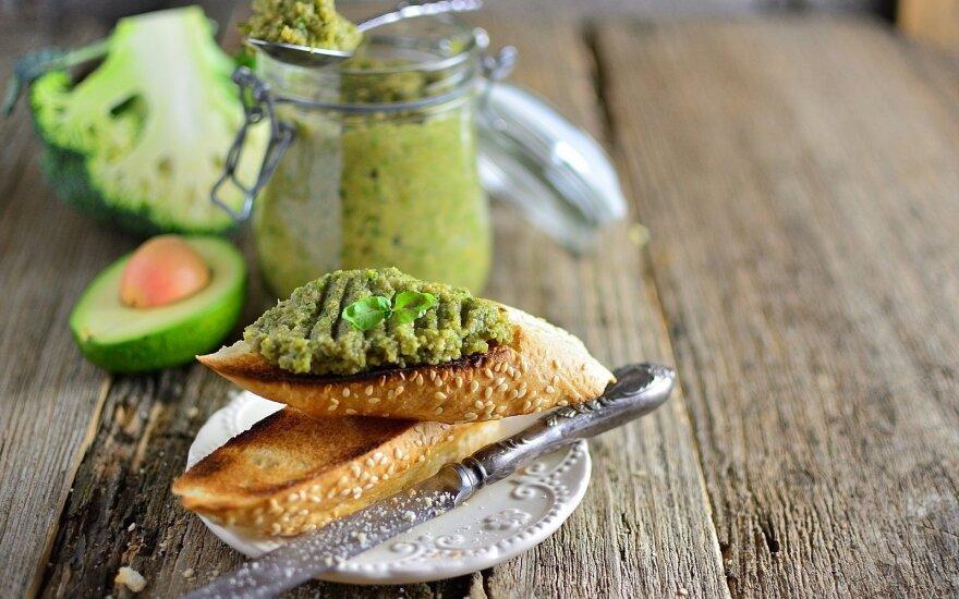 Sumuštinukai su brokolių kremu