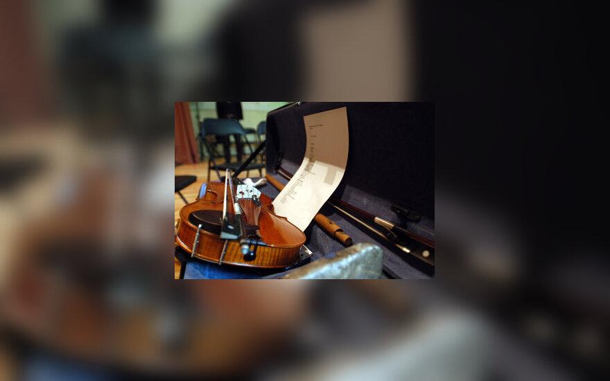muzika, smuikas