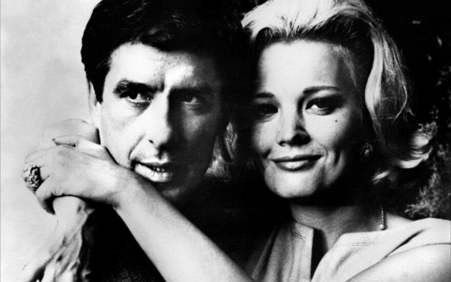 Johnas Cassavetes su aktore žmona Gena Rowlands