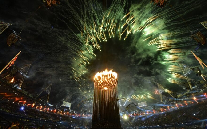 Įspūdingu atidarymu prasidėjo Londono parolimpinės žaidynės