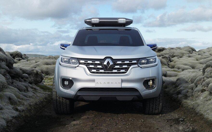 """Renault"" pristato ALASKAN koncepciją"