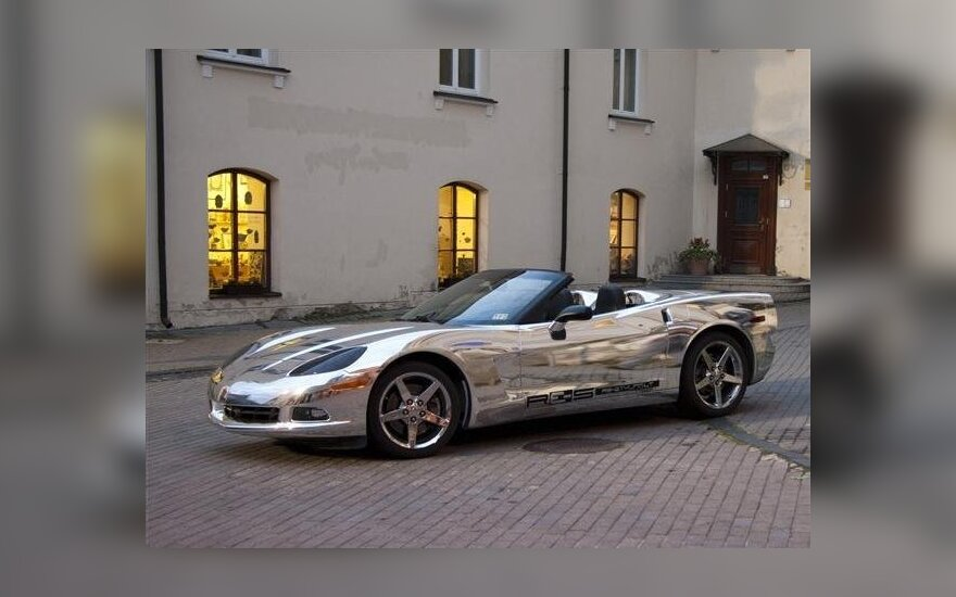 Veidrodinis Chevrolet Corvette