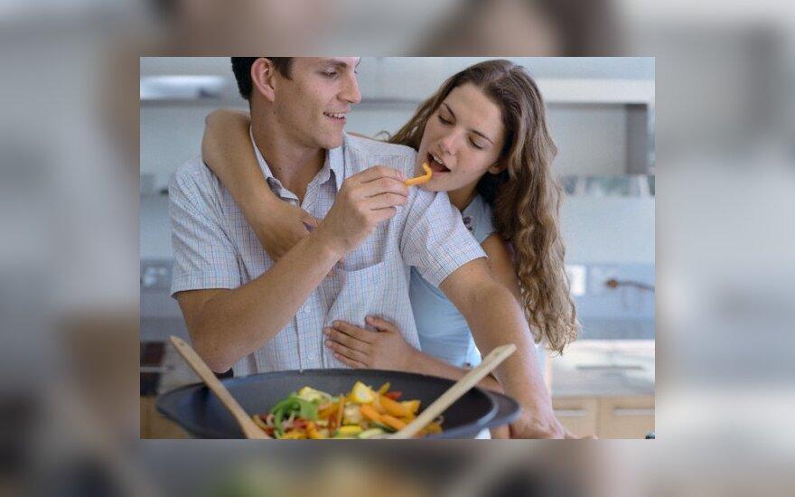 Pora ragauja maistą