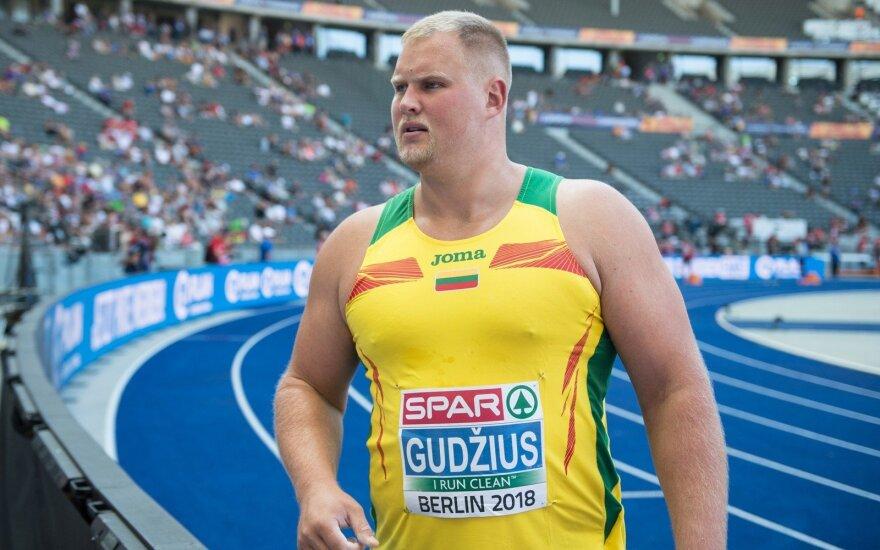 Europos lengvosios atletikos čempionatas: Andrius Gudžius