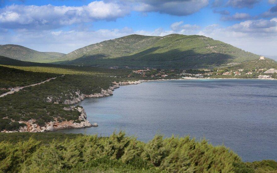 Vyto Markevičiaus nuotr.:Žalioji Sardinija