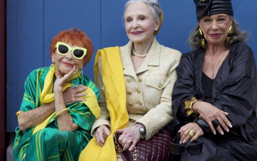 Forever stylish: Lithuanian filmmaker explores the lives of New York's elderly fashionistas