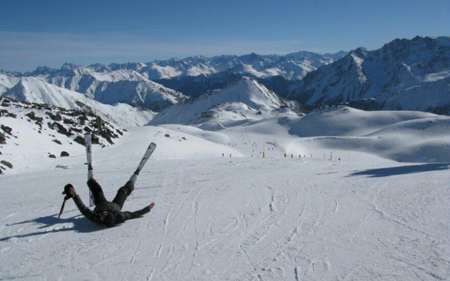 L.Pamereckytė jaunimo žiemos olimpinėse žaidynėse nebaigė kalnų slidinėjimo slalomo trasos