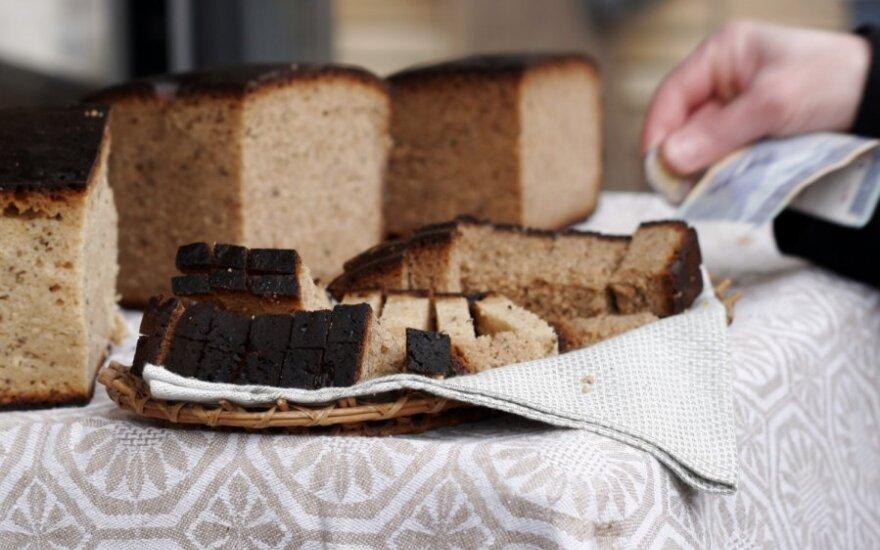 Ūkininkų kepta kaimiška duona