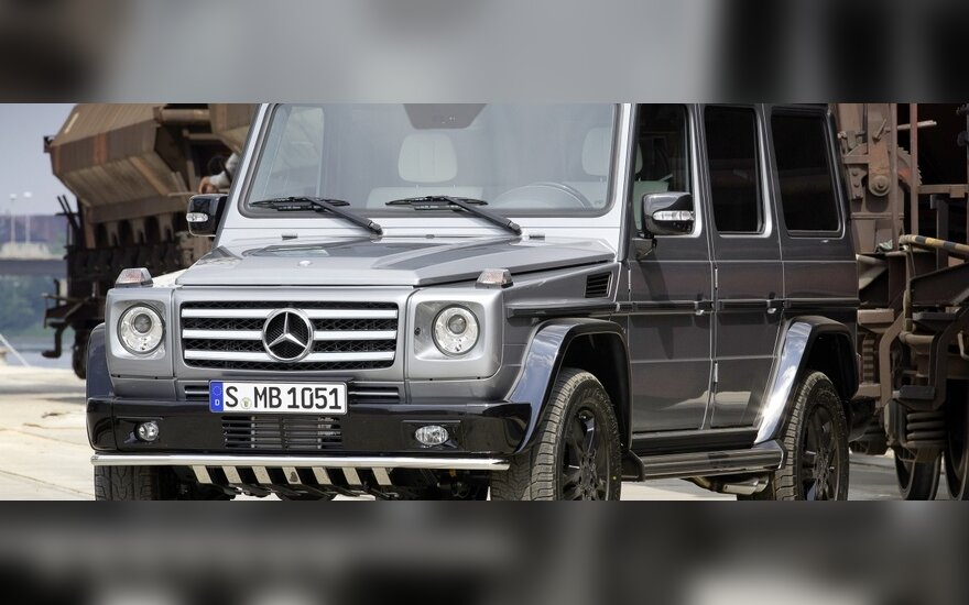 Mercedes-Benz G-klasės Edition Select
