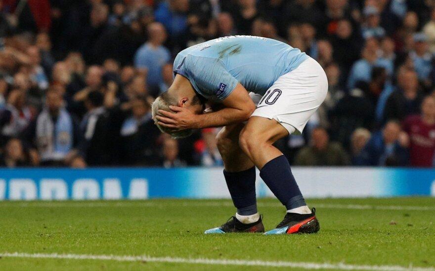 """Beprotiška Čempionų lyga: net ir keturis įvarčius praleidęs """"Tottenham"""" išmetė """"Man City"""" už borto"""