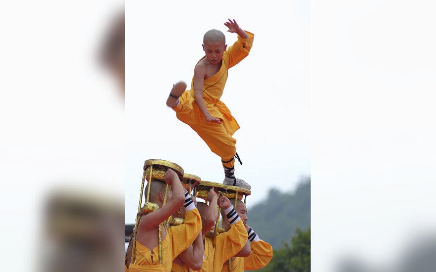 Šaolin vienuolių pasirodymas