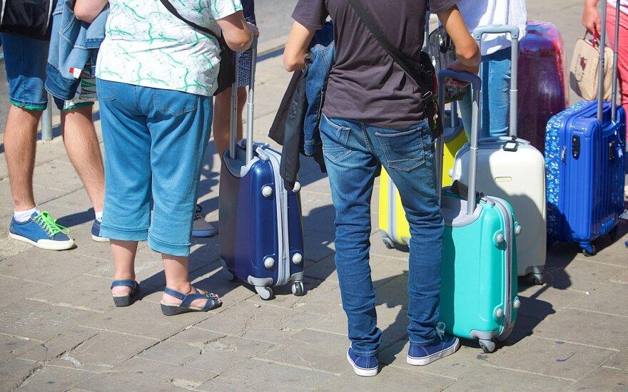 Per pirmąjį 2017-ųjų pusmetį emigravo 10 tūkst. žmonių daugiau nei pernai