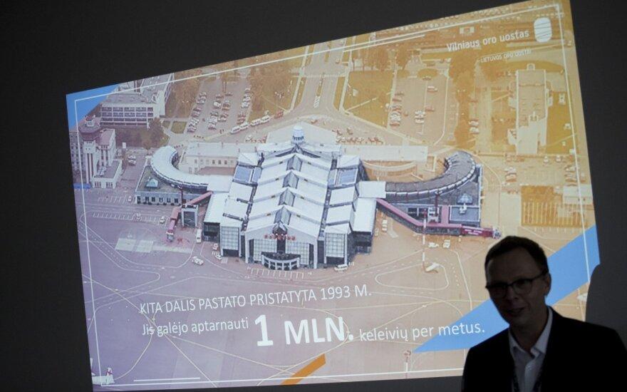 Vilniaus oro uostas pradeda kelerius metus truksiantį remontą