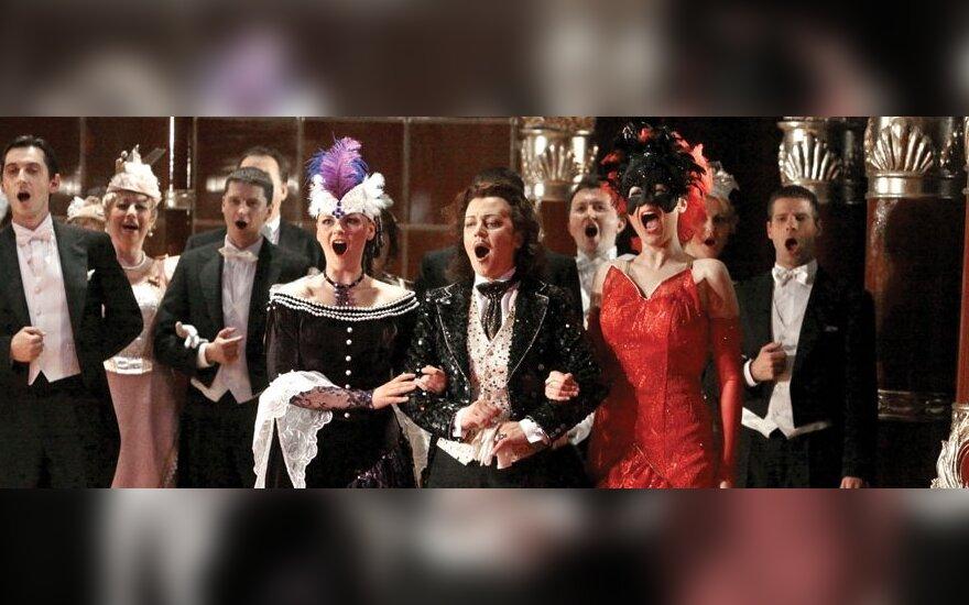 """Rita Preikšaitė J. Strausso operetėje """"Šikšnosparnis"""" (Grafas Orlovskis)"""