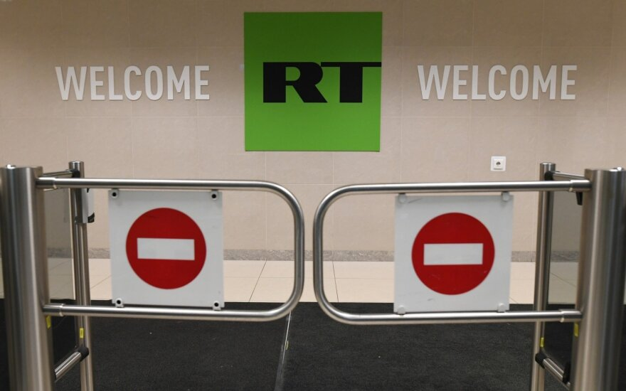 Media watchdog bans Russian broadcaster RT