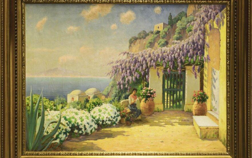 Jonas Mackevičius. Capri (1914–1929)