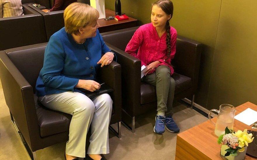 Angela Merkel, Greta Thunberg