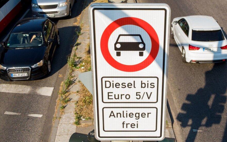 Dyzelinių automobilių draudimas Hamburge