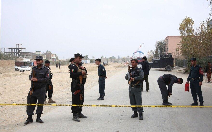 Neramumų sukrėstame Kabule uždrausta rengti demonstracijas