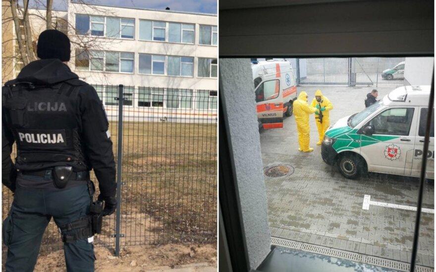 Vilniaus policijos pareigūnai jaučiasi palikti likimo valioje: dėl apsaugos priemonių teko pakovoti
