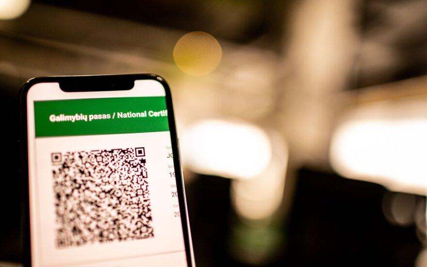 Socialiniuose tinkluose plinta netiksli informacija apie Galimybių pasą