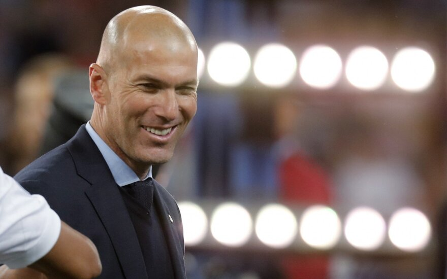 """""""Real"""" ruošia pusę milijardo sudėties atnaujinimui: Zidane'as žvalgosi į Pogbą, Mbappe ir Hazardą"""