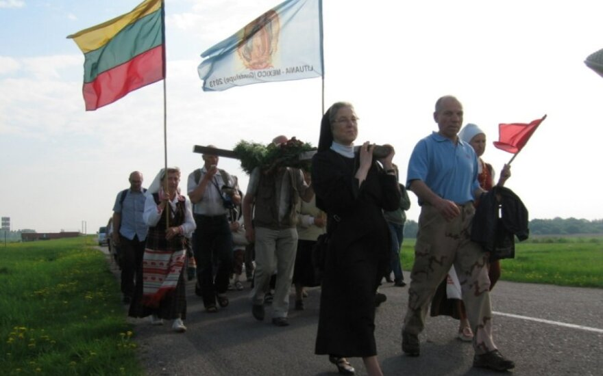 Skaitytojo galerija: piligriminės kelionės akimirkos iš Šiaulių