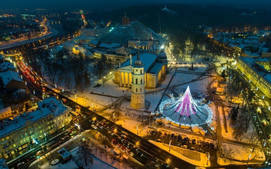 Pagrindinė Vilniaus Kalėdų eglė