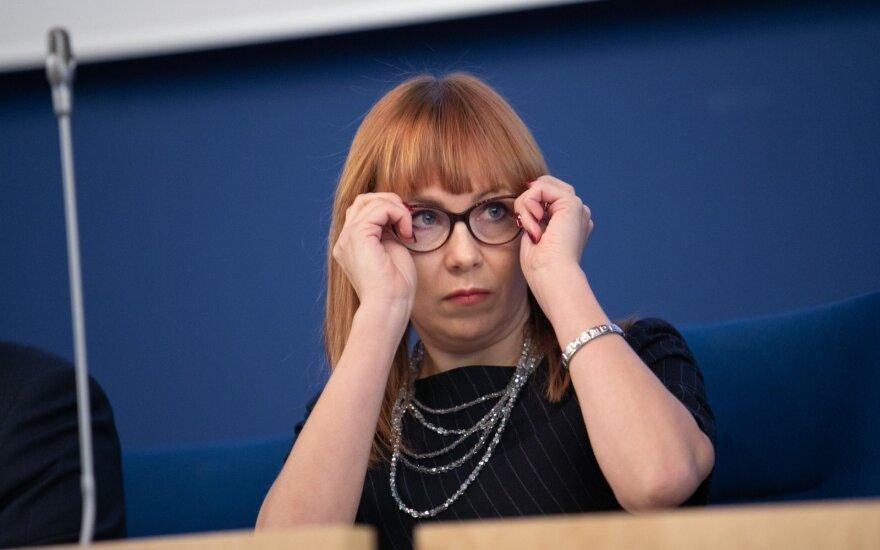 VTEK sprendimas dėl ministrės Petrauskienės – kitą savaitę