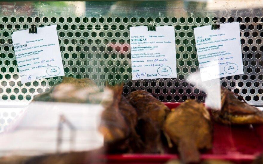 Peržiūrėjo žuvies kainas pajūryje: įvertinkite patys