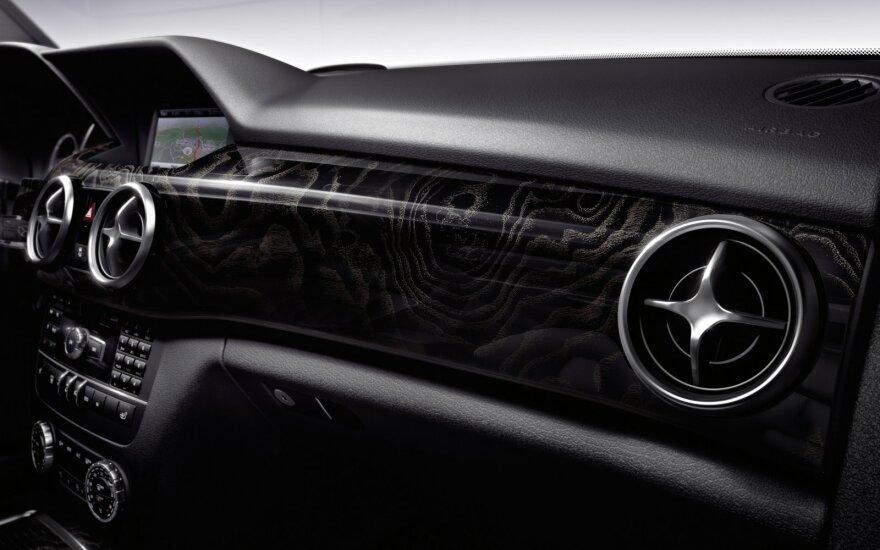 "Rokiškio rajone pavogtas ""Mercedes Benz"""