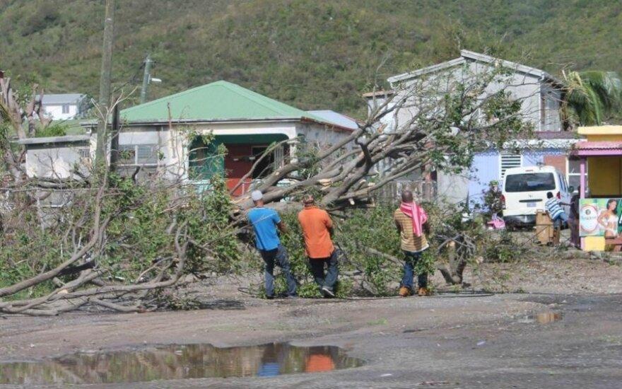 Uragano Gonzalo padariniai