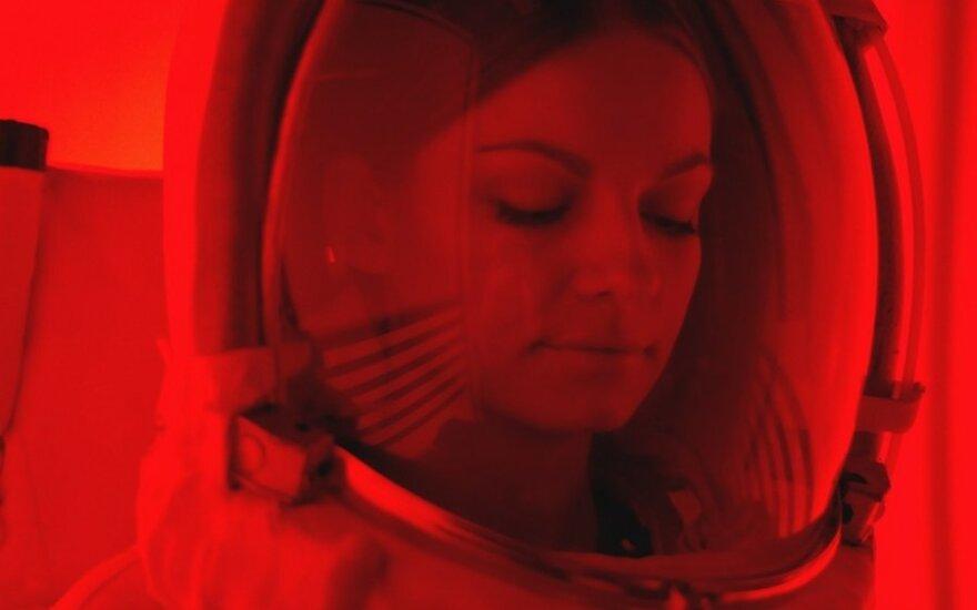 """Kadras iš """"Interstellar"""" klipo (J. Urbonavičiūtės nuotr.)"""