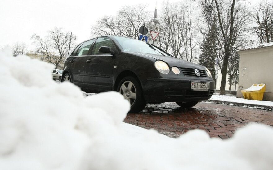 Sniegas, žiema, važiavimas