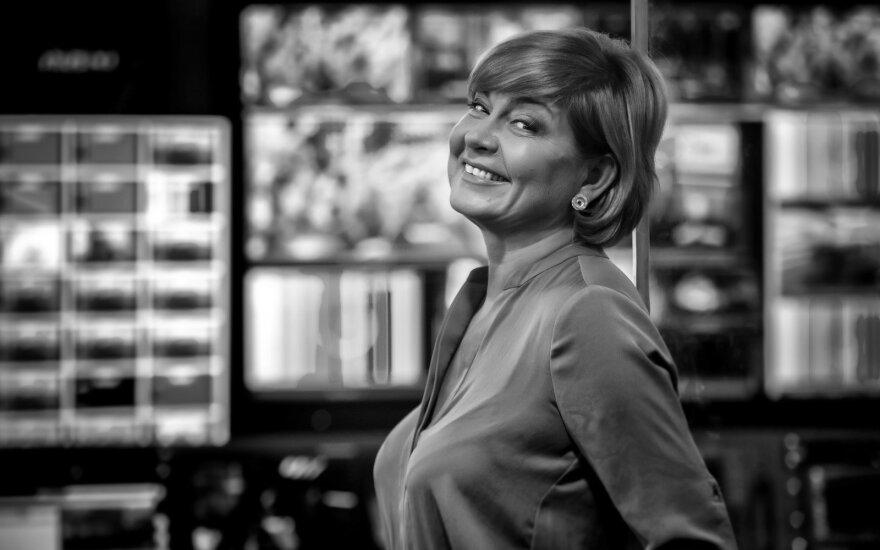 """Edita Mildažytė, nuotrauka iš knygos """"Lyderiai"""""""