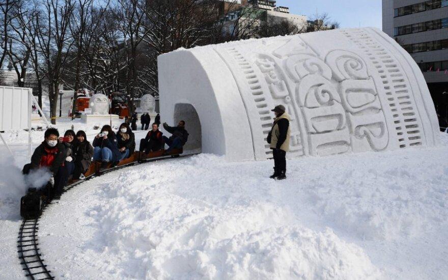 Sapporo sniego festivalis Japonijoje
