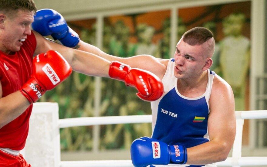 Staigmena Šociko bokso turnyre – lietuvis nugalėjo Europos čempioną
