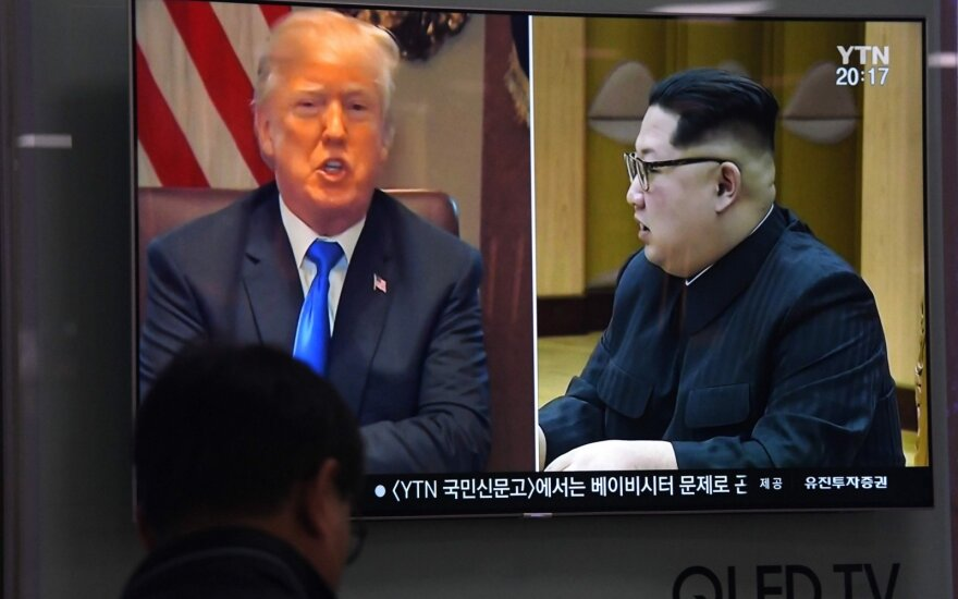 Donaldas Trumpas, Kim Jong Unas