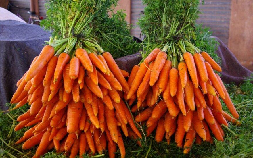 Steriliai atrodančios daržovės - atgrasios?