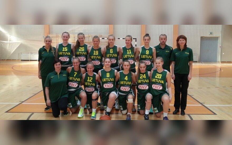 Lietuvos 16-mečių merginų krepšinio rinktinė