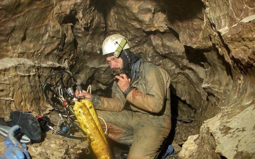 Vienas garsiausių speleologų: jei nebijai mirties, nebelieka, ko bijoti