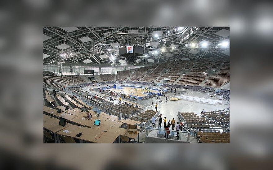2009 m. Lodzės arena Lietuvos krepšiniui buvo nesvetinga
