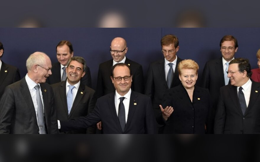 Leaders of EU member states in Brussels