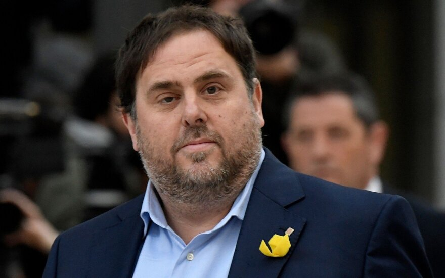 Šeši kalintys katalonų politikai trumpam sugrįžo į parlamentą