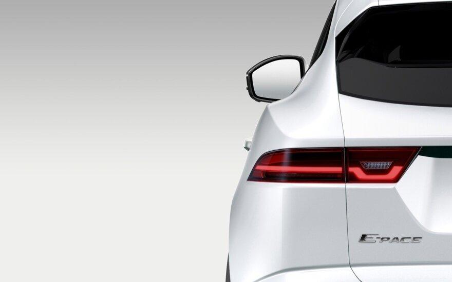 """Jaguar E-Pace"" užuomina"